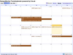 Netzpolitischer Kalender